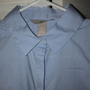 H&M hidden button button down